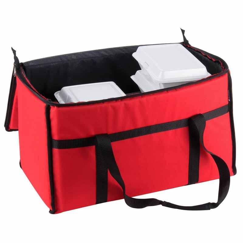 custom fast food warmer restaurant equipment delivery cooler bag