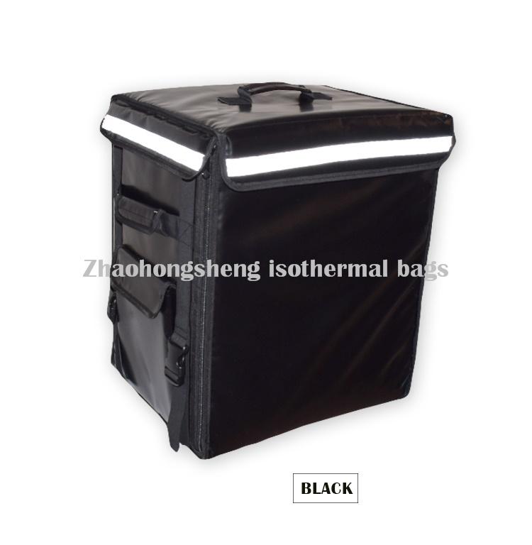 OEM Customized Pizza Thermal Bag Aluminum Foil Bag - Portable Food Warmer Delivery Cooler Bag Backpack – Zhao Hongsheng