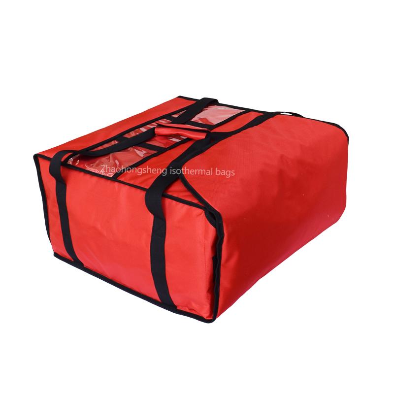 18 '' ysolearre termyske pizza iten waarmer levering lunch bags
